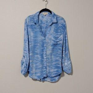 Cloth & Stone Tie Dye Button Down